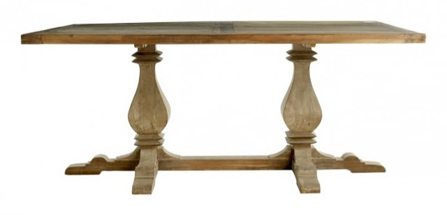 Wisteria Trestle Table traditional dining tables