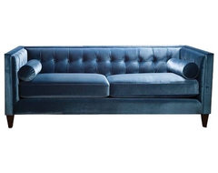 Fusion Tufted Back Sofa contemporary sofas