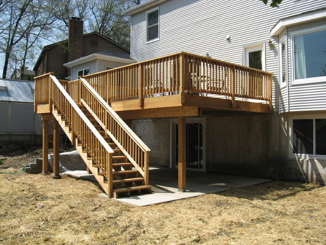 New Deck, Patio & Retaining Wall