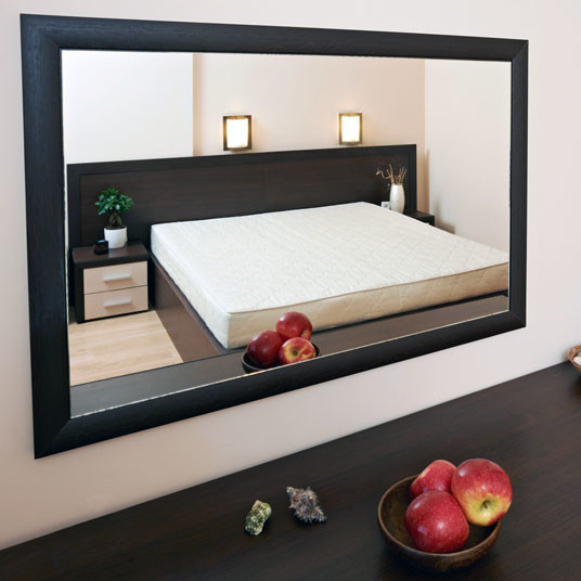 custom wall mirror for bedroom contemporary bathroom