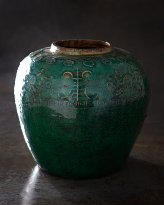 Green Jar traditional-food-containers-and-storage