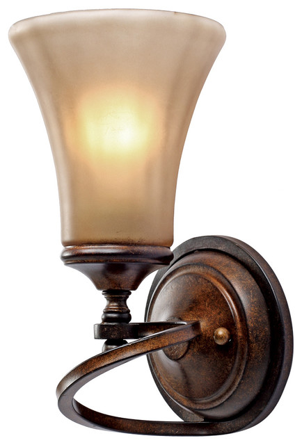 Loretto 1 Light Wall Sconce traditional-wall-lighting