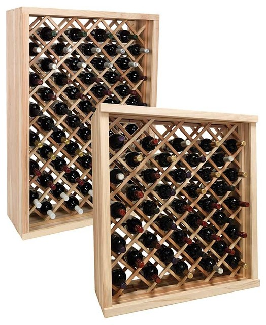 Wine Rack Designs ~ Woodwork individual diamond bin wine rack plans pdf