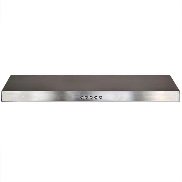 Gas Range Hoods ~ Euro stainless steel range hood cavaliere under cabinet