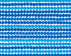 Rasymatto Blue fabric by Marimekko modern upholstery fabric