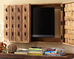 Riddling Rack Media Solution eclectic-entertainment-centers-and-tv-stands