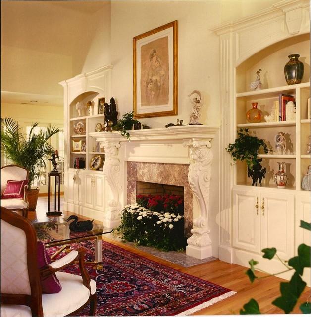 Peter Salerno Inc. Designs traditional-living-room