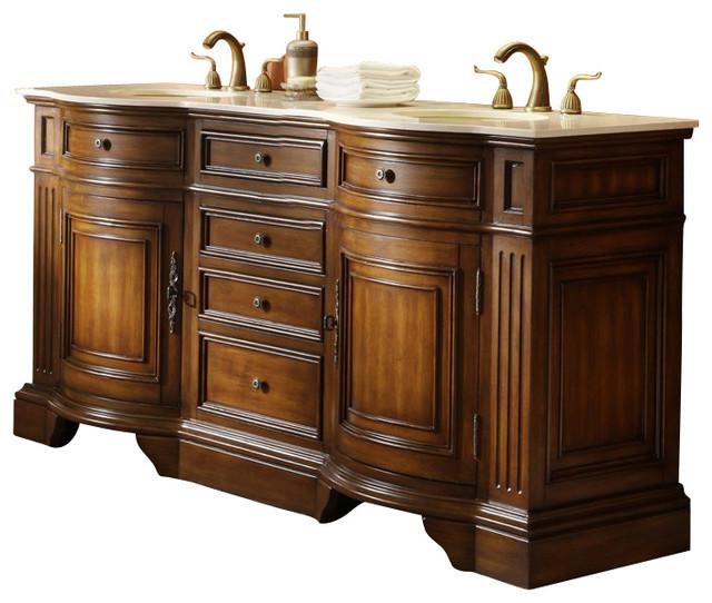 Master Of The Old World Kleinburg Double Sink Bathroom
