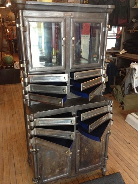 Vintage industrial dental cabinet patented date 1903. - Furniture ...
