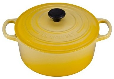 Le Creuset 3.5 qt. Round French Oven - Soleil modern-ovens