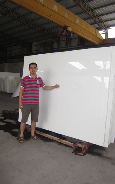 Super White Thassos Glass from China Marmoglass Co.,Limited