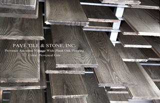 Provence Ancienne Wide Plank Oak Flooring - Traditional ...