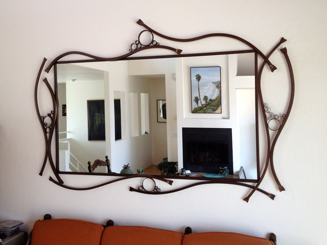 Large Kelp Bubbles Mirror Frame contemporary-wall-mirrors