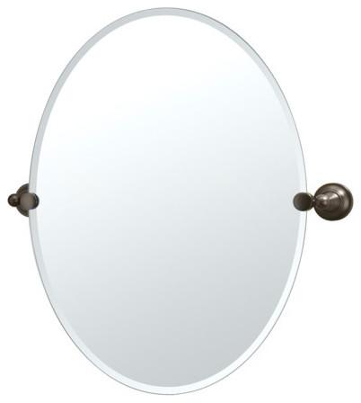 Tiara Mirror In Oil Rubbed Bronze Modern Home Decor By Wayfair