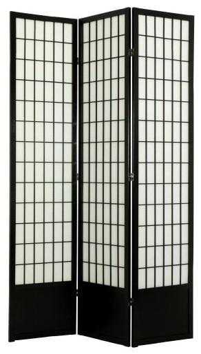 Window Pane Room Divider - 78 inch contemporary-screens-and-room-dividers
