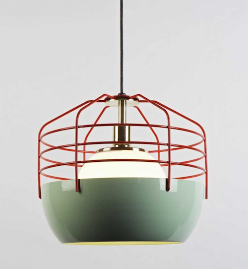 Bluff City 14-inch eclectic pendant lighting