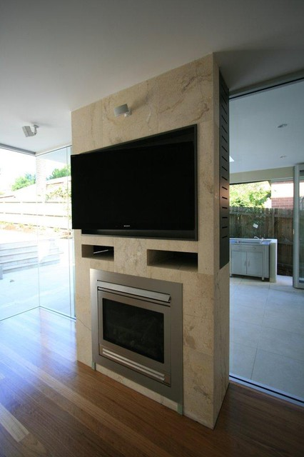 Drummoyne Residence contemporary-living-room