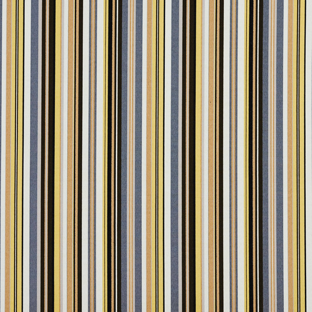 Ikea yellow and white striped fabric for Schuhschrank yellow