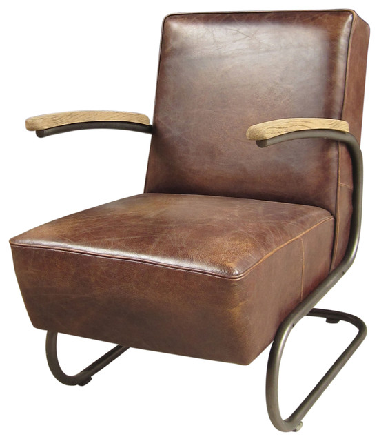 Miles Club Chair industrial-accent-chairs
