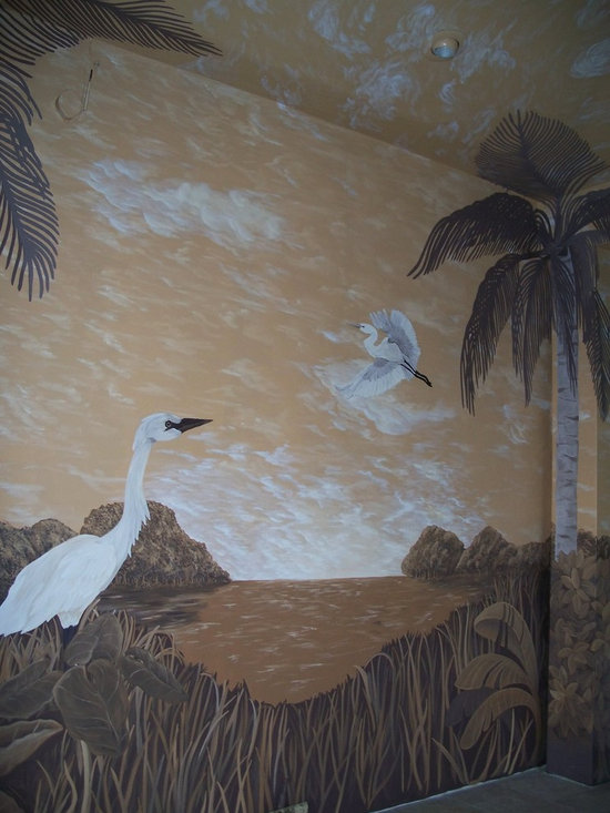 Pool Mural and Enclosure - Ken and Dylan Ferris
