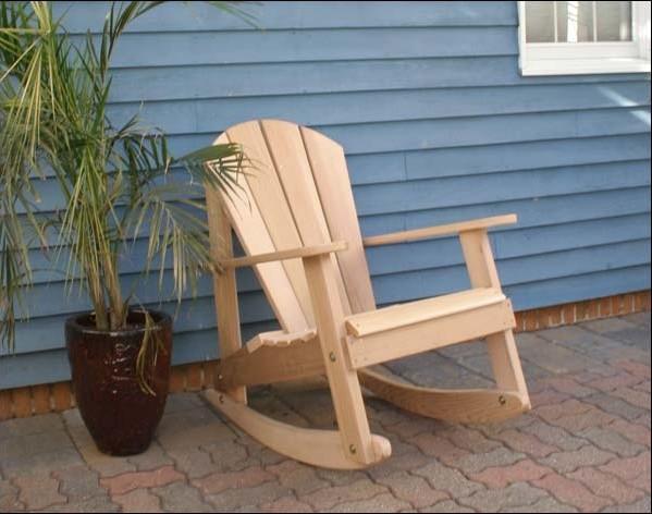 Porch Rocking Chair Plans Cedar Adirondack Rocking Chair Contemporary  Outdoor .