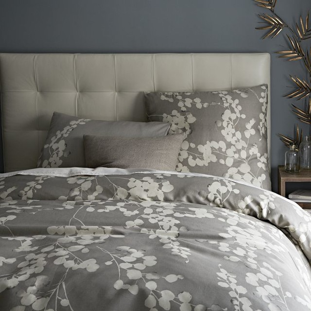 Moonflower Duvet Cover - Contemporary - Duvet Covers And ...