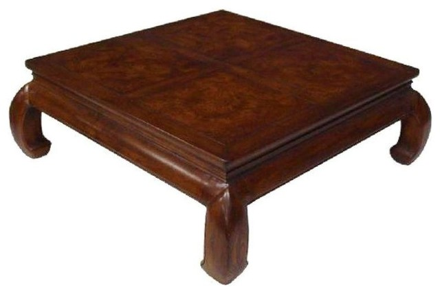 Henredon Asian Style Coffee Table Traditional Coffee Tables By Chairish