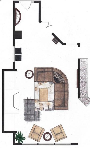 Other Floor Plan Designs/Renderings contemporary-rendering