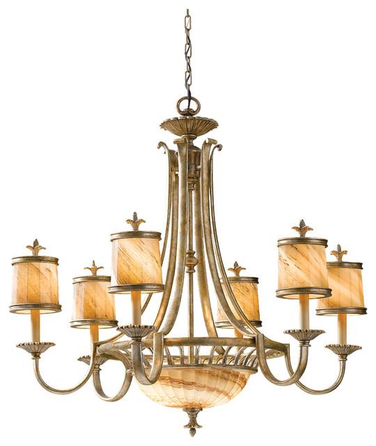 Discount Murray Feiss Lighting: Murray Feiss F2541/6+2OSL Bancroft 8 Bulb Oxidized Silver
