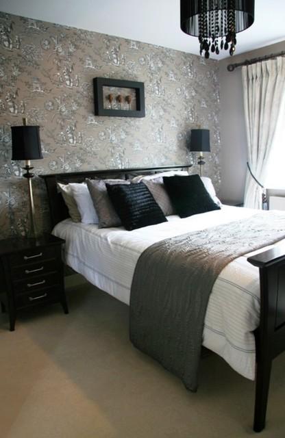 silver bedroom wallpaper - photo #27