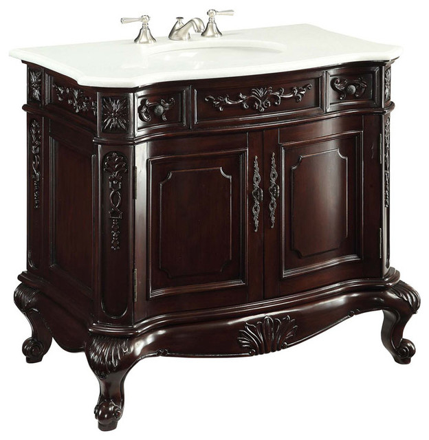 Antique Bathroom Vanities traditional-bathroom-vanities-and-sink-consoles