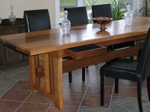 Dining room table with drawers dining tables edmonton Dining table with drawer