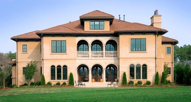 House Fronts mediterranean-exterior