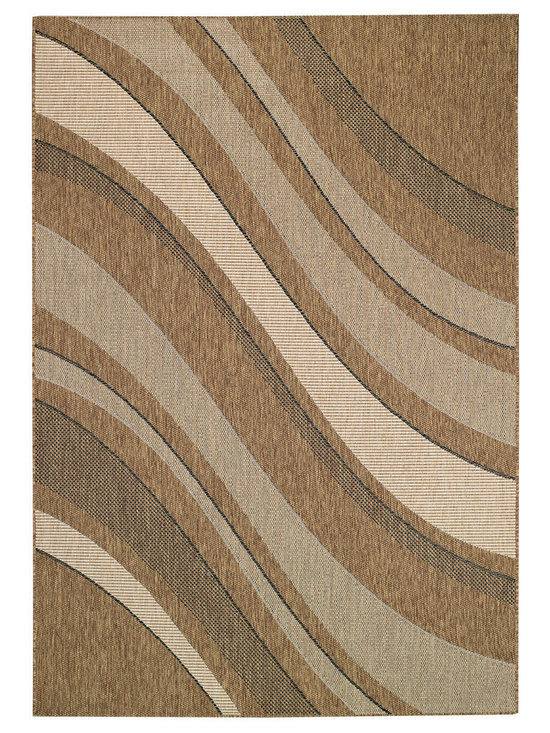 Seabreeze Tides rug in Earth -