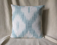 Designer Mod Ikat Pillow Cover eclectic fabric