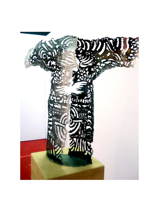 Chinese Imperial robe sculpture - Vicky Frazer