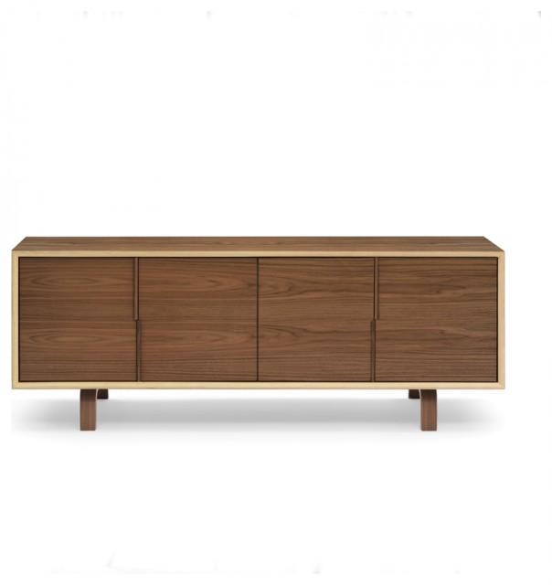 Cherner Chair Multiflex 4 Door Cabinet Credenza modern-storage-units-and-cabinets