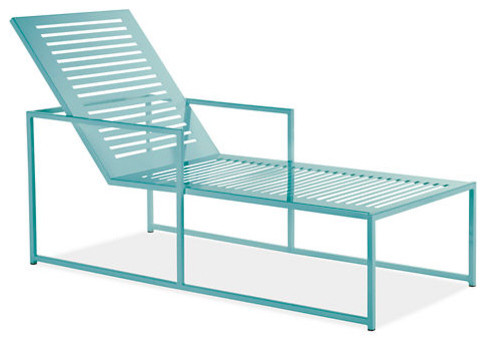 Cruz Chaise Ocean Modern Outdoor Chaise Lounges By Room Board