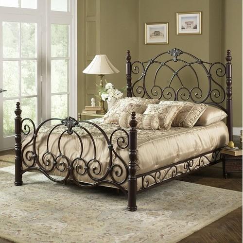 Strathmore Metal Bed modern-beds