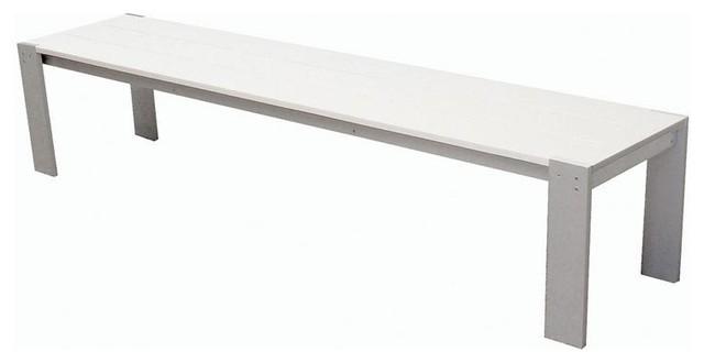 Modern Outdoor Benches : Modern Outdoor - Luma Bench - Modern - Outdoor Benches - by 2Modern