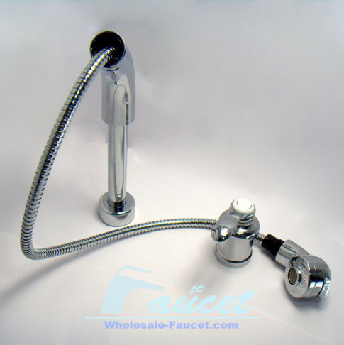 Single Handle Pull Out Kitchen Faucet contemporary-kitchen-faucets