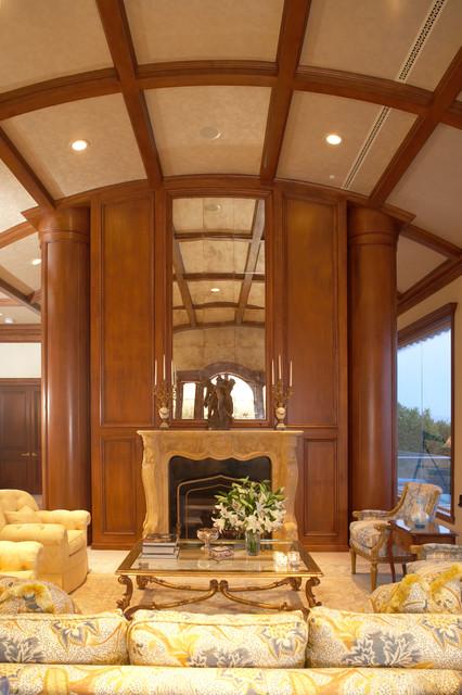 Malibu Residence traditional-living-room