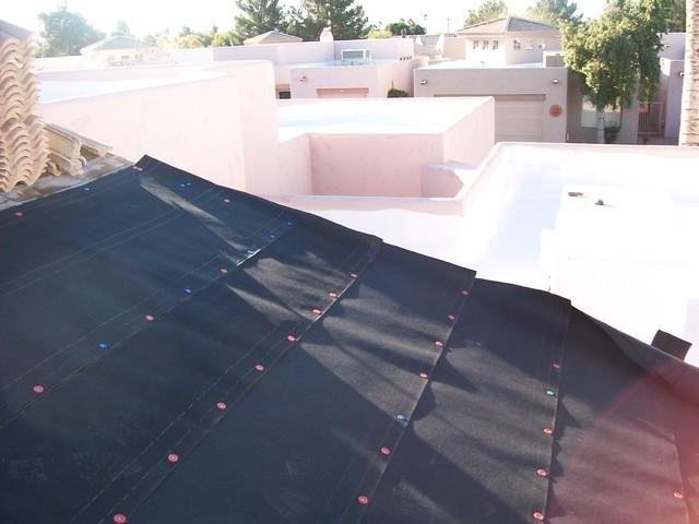 Sayama Residence - Roof Repair in Phoenix traditional