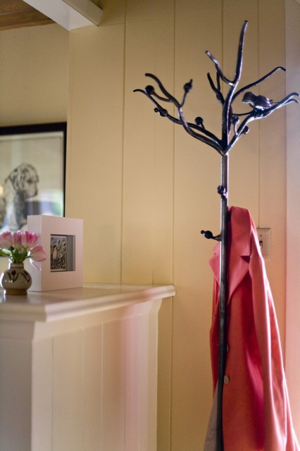 Wrought Iron Bird and Branch Coat Rack - minneapolis - by VanMadrone Metalworks LLC