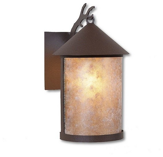 Rustic Cascade Lantern Sconce Large - Eclectic - Outdoor Wall Lights And Sconces - by ...