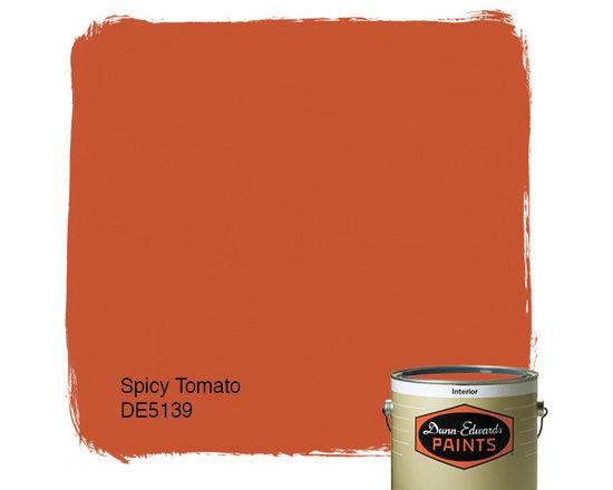 Dunn-Edwards Paints Spicy Tomato DE5139 -