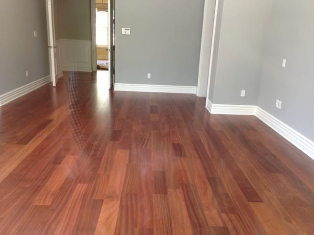 Sapele Hardwood Flooring Traditional Hardwood Flooring