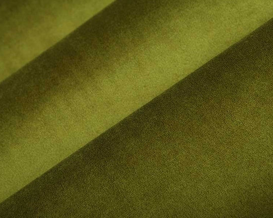 Princess Upholstery Fabric in Apple - This dark green upholstery fabric has a suede and velvet-like pile that creates a decadent feel that's not easily forgotten. Super durable, yet soft and luxurious, this fabric is perfect for high traffic areas. Available in a multitude of colors, this fabric is a great solid to use as the basis for any design. Ideal for reupholstering chairs, sofas, ottoman, and more, or for creating custom bedding and pillows. Made from 100% polyester. Fire Rating: UFAC Class 1. 100,000 double rubs. Width: 54″