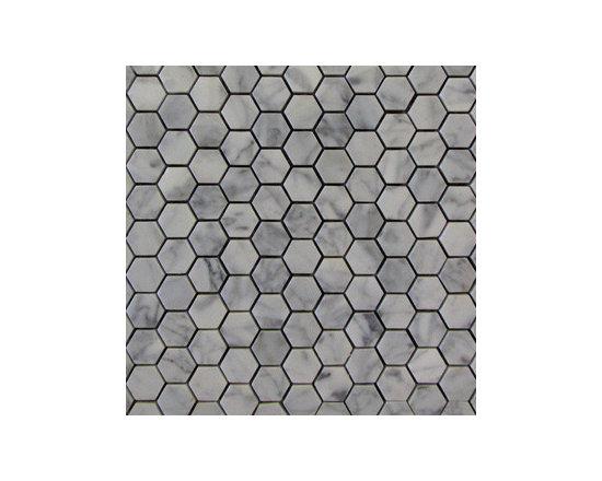 Carrara Hexagon Natural Stone Mosaic -