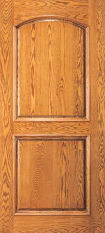 2 Panel Wood Doors